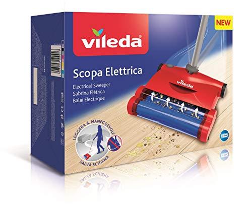 Vileda Quick & Clean - Scopa Elettrica Senza Sacco e Senza filo